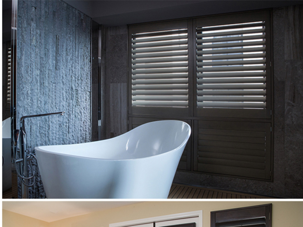 NORMANDY® Wood Shutters