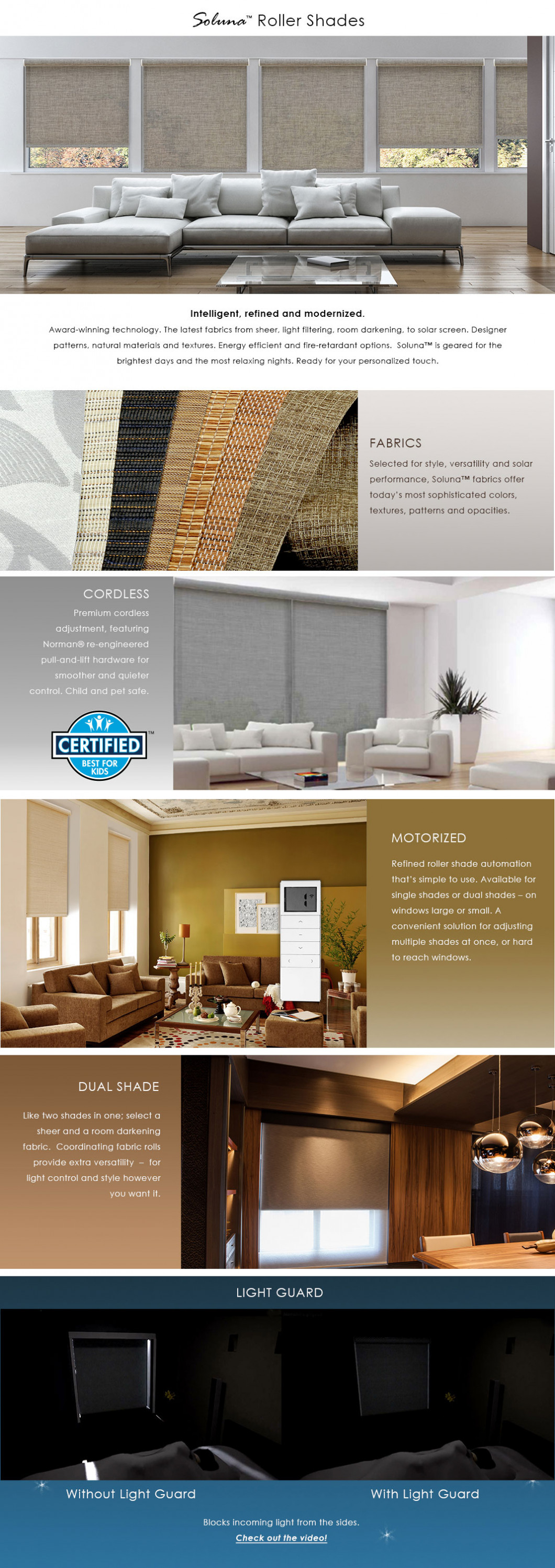 NORMAN ROLLER SHADES